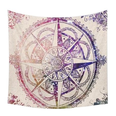 150-200cm-Indian-Mandala-Tapestry-Totem-Compass-Mandragora-Printing-Beach-T-M6P1