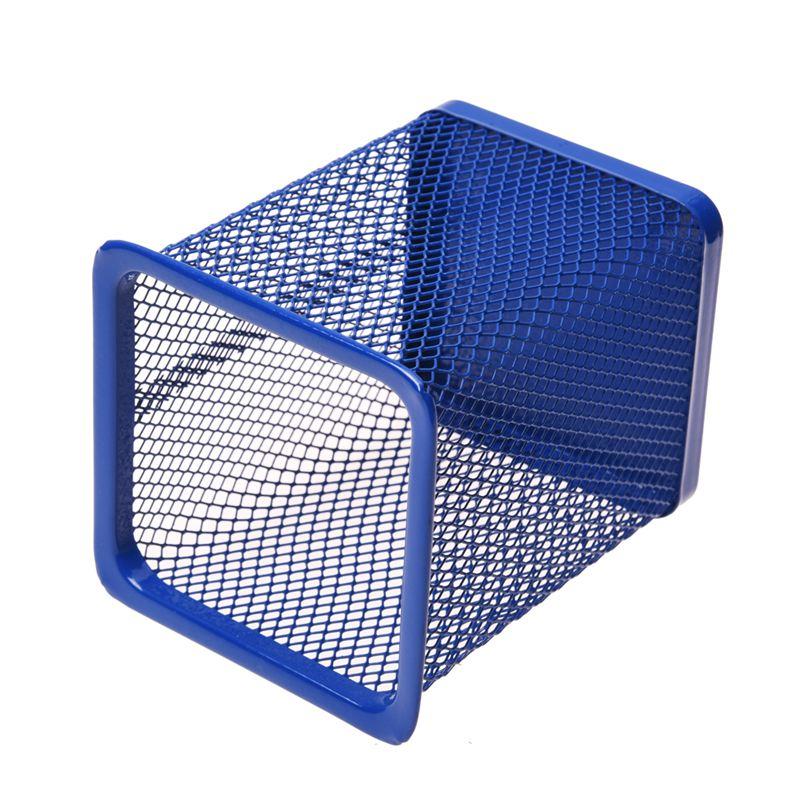 2-Piezas-de-sostenedor-de-pluma-y-regla-con-diseno-de-Hueco-rectangulo-de-Metal