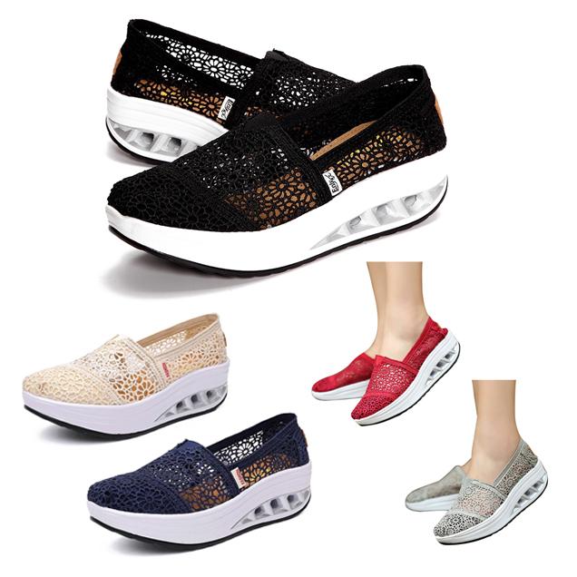Shoe Type Casual Shoes Toe Round Closure Slip On Heel Platform Gender Female Occasion Daily Season Spring Summer Autumn