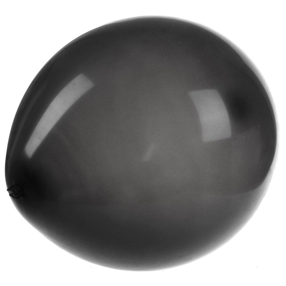 2X-50-x-Negro-12-pulgadas-de-Globos-de-latex-de-calidad-de-helio-V2G7