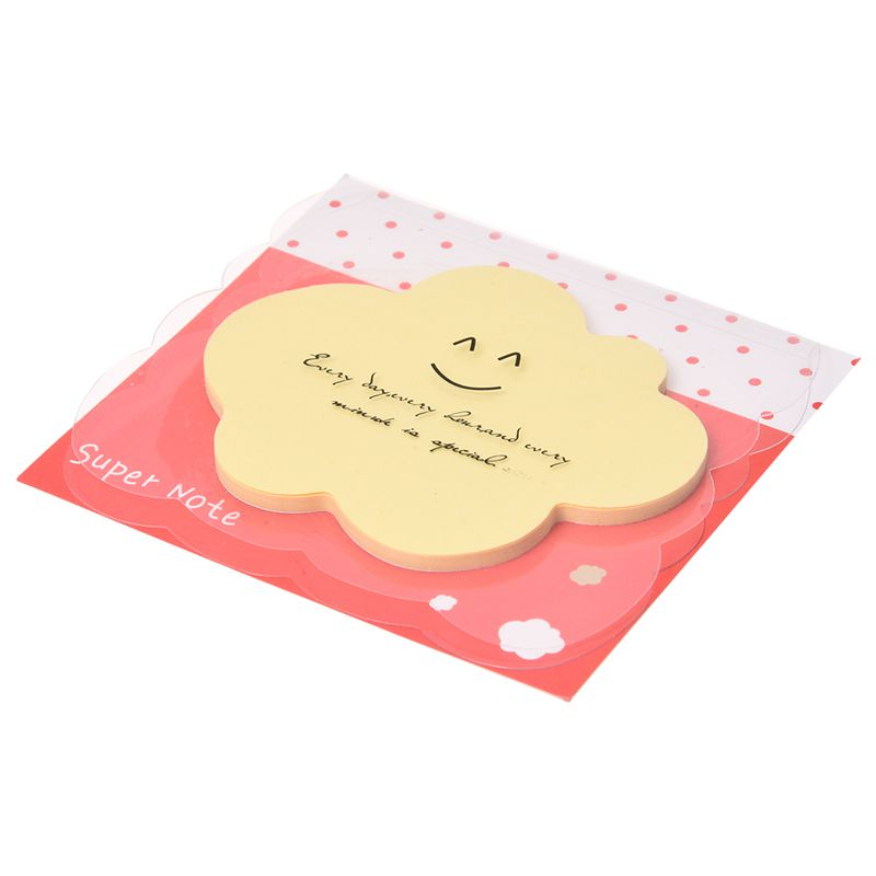 Cute Fun Lovely Memo With Cover Bookmark Pad Stick Paste Memo Tab Sticky No U8W0