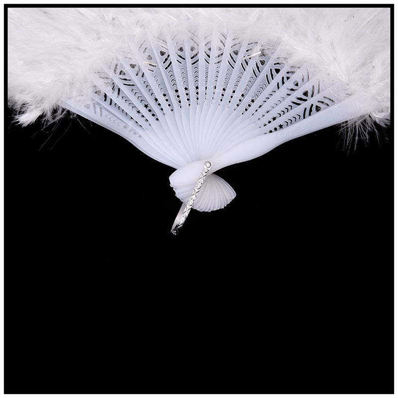 Phantom-Party-Supplies-Fluffy-Feather-Hand-Fan-Fancy-Elegant-Props-New-WhitQ2X2 thumbnail 4