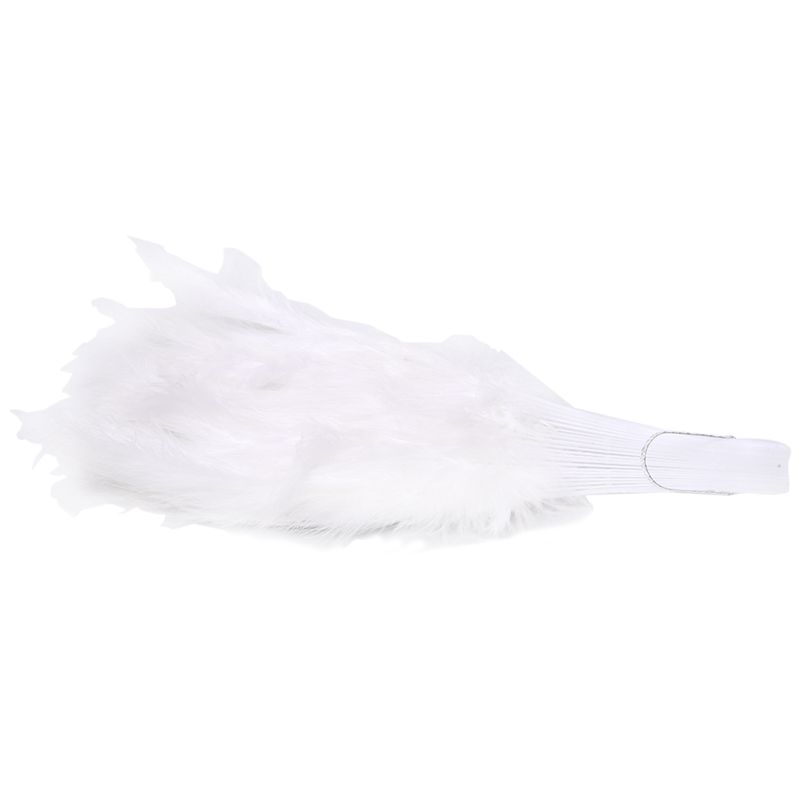 Phantom-Party-Supplies-Fluffy-Feather-Hand-Fan-Fancy-Elegant-Props-New-WhitQ2X2
