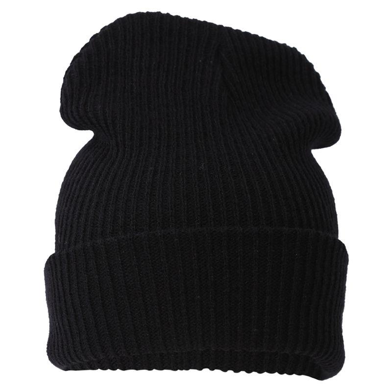 3X Unisexe Hommes Femmes Knit Baggy Beanie Beret Hat hiver chaud de ski surdimensionné Cap