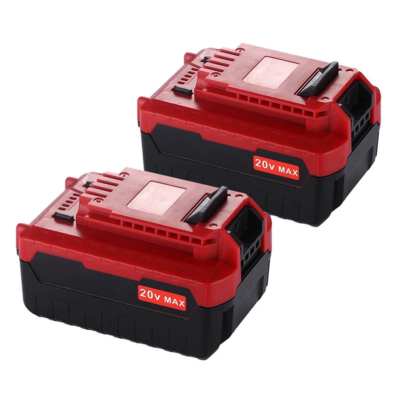 1pair 20V Max 5.0Ah Li-Ion Battery for Porter Cable PCC685L PCC680L A3Y1