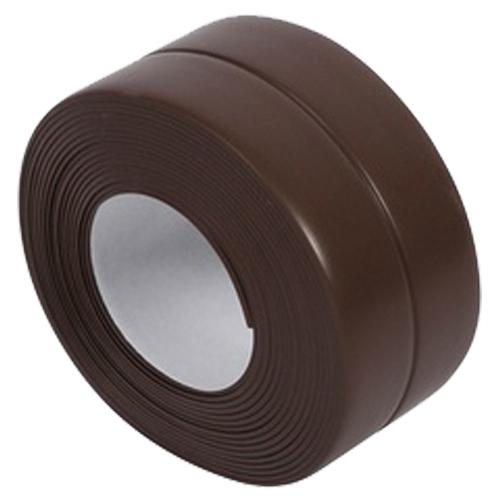 Self Adhesive Bath Wall Sealing Strip Sink Basin Edge Trim 38mmx3.2m brown P3S8