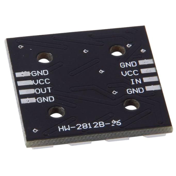 WS2812B 16-Bit 4*4 Full Color 5050 RGB LED Lámpara Panel Rgb fuente de luz C3X5