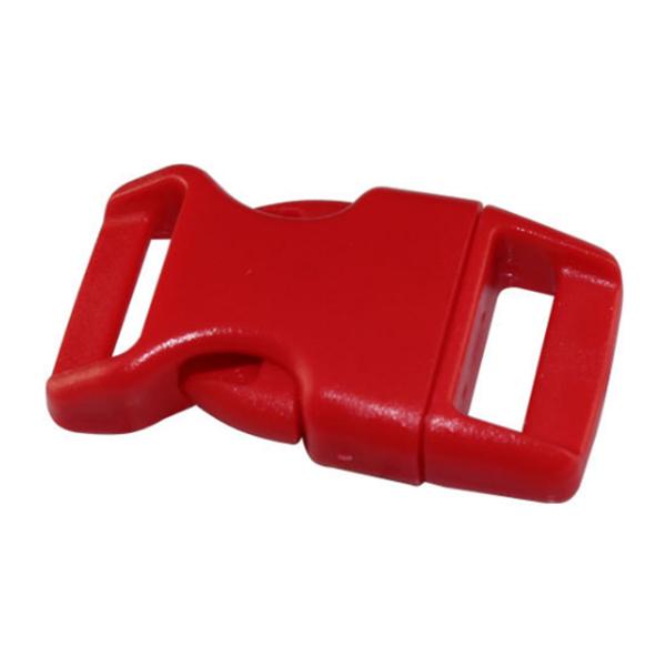 10x 15mm Plastic Side Quick Release Buckles For Webbing Bag Strap Clips 5/8 V5T8