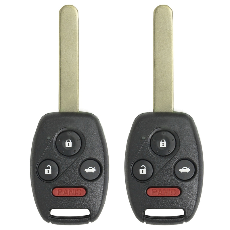 Image Is Loading 2x Uncut Remote Key Fob Keyless Entry Replacement