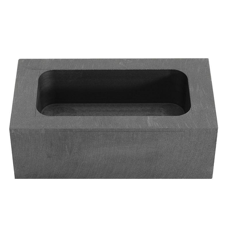 23,5 Unzen Graphit Guss Barren Form für Gold Silber Kupfer Schmelzen Raffin M1C9