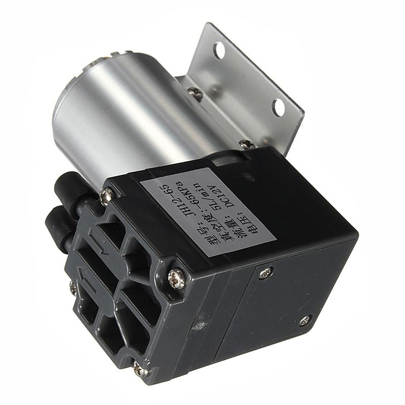 DC12V Mini Vacuum Pump Negative Pressure Suction Pump 5L//min 120kpa With Ho I8R4