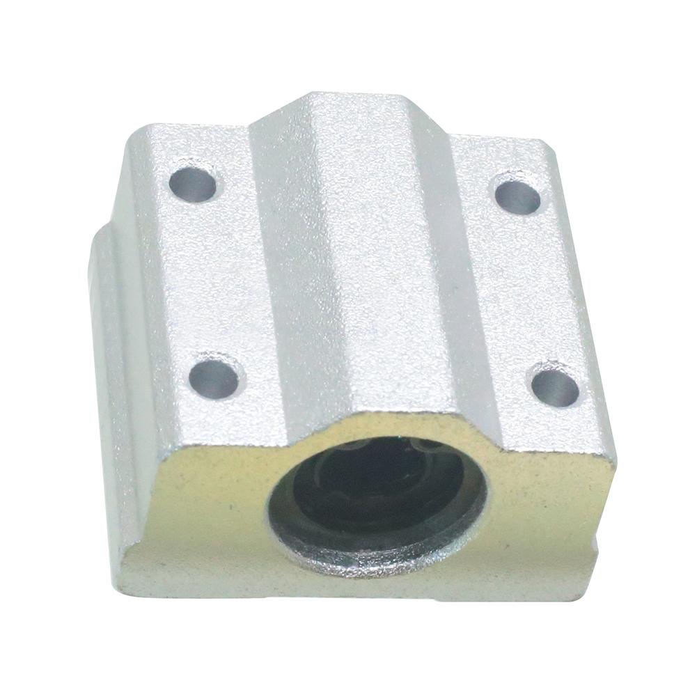 1pcs SCS8UU 8mm Linear motion ball slide units bearing block Al Rail guide R1L8