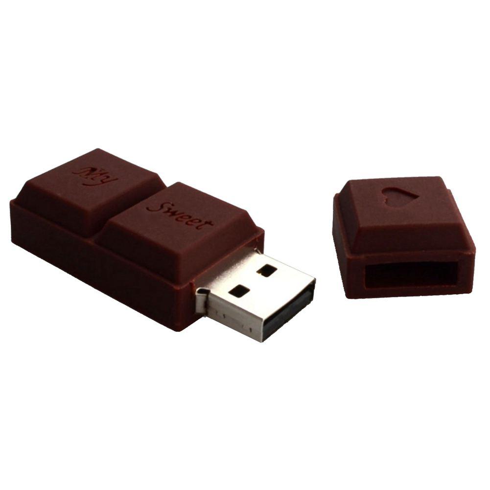 hi speed usb stick schokoladen riegel liebe 3d braun c5p2 ebay. Black Bedroom Furniture Sets. Home Design Ideas