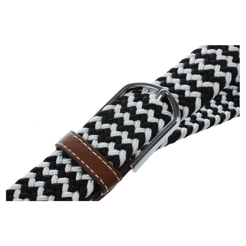 Homme-Femme-Cuir-Boucle-de-ceinture-en-toile-Ceinture-ceinture-elastique-Ce-O2K5 miniature 9