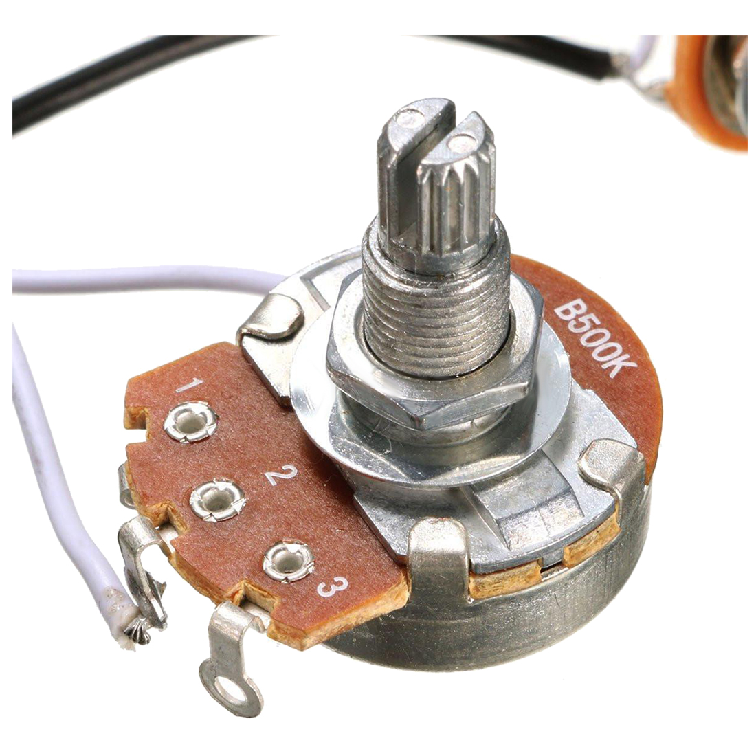 Electric Guitar Parts Wiring Harness 2v1t 500k Pots Tone 3 Way Pickup 1v2t 5 Switch For Fender Toggle O3d5