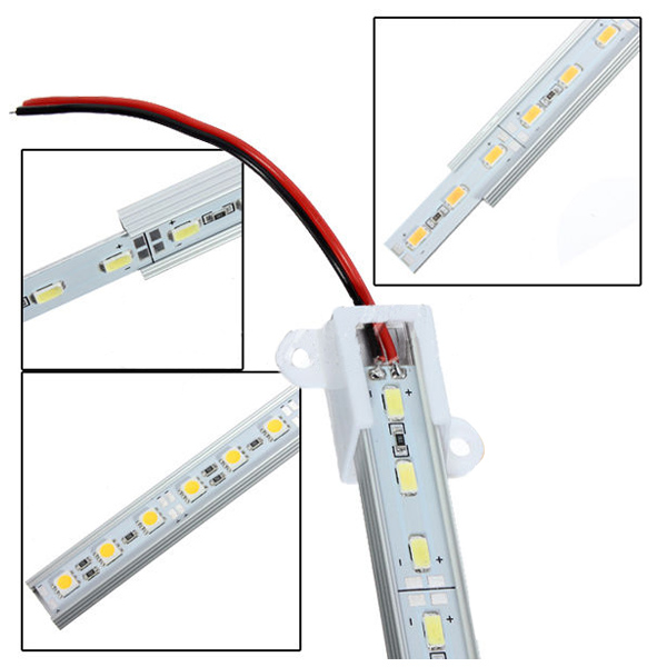 50CM-12V-36-LED-5630-SMD-Hard-Strip-Bar-Light-Aluminum-Rigid-V2F1 thumbnail 5