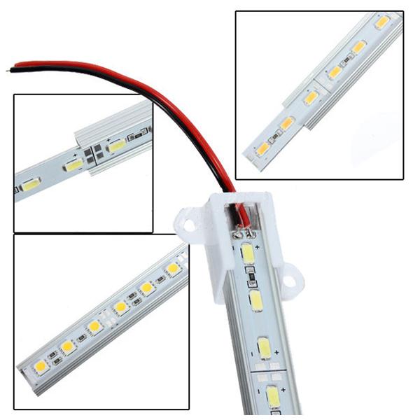 50CM-12V-36-LED-5630-SMD-Hard-Strip-Bar-Light-Aluminum-Rigid-V2F1 thumbnail 9
