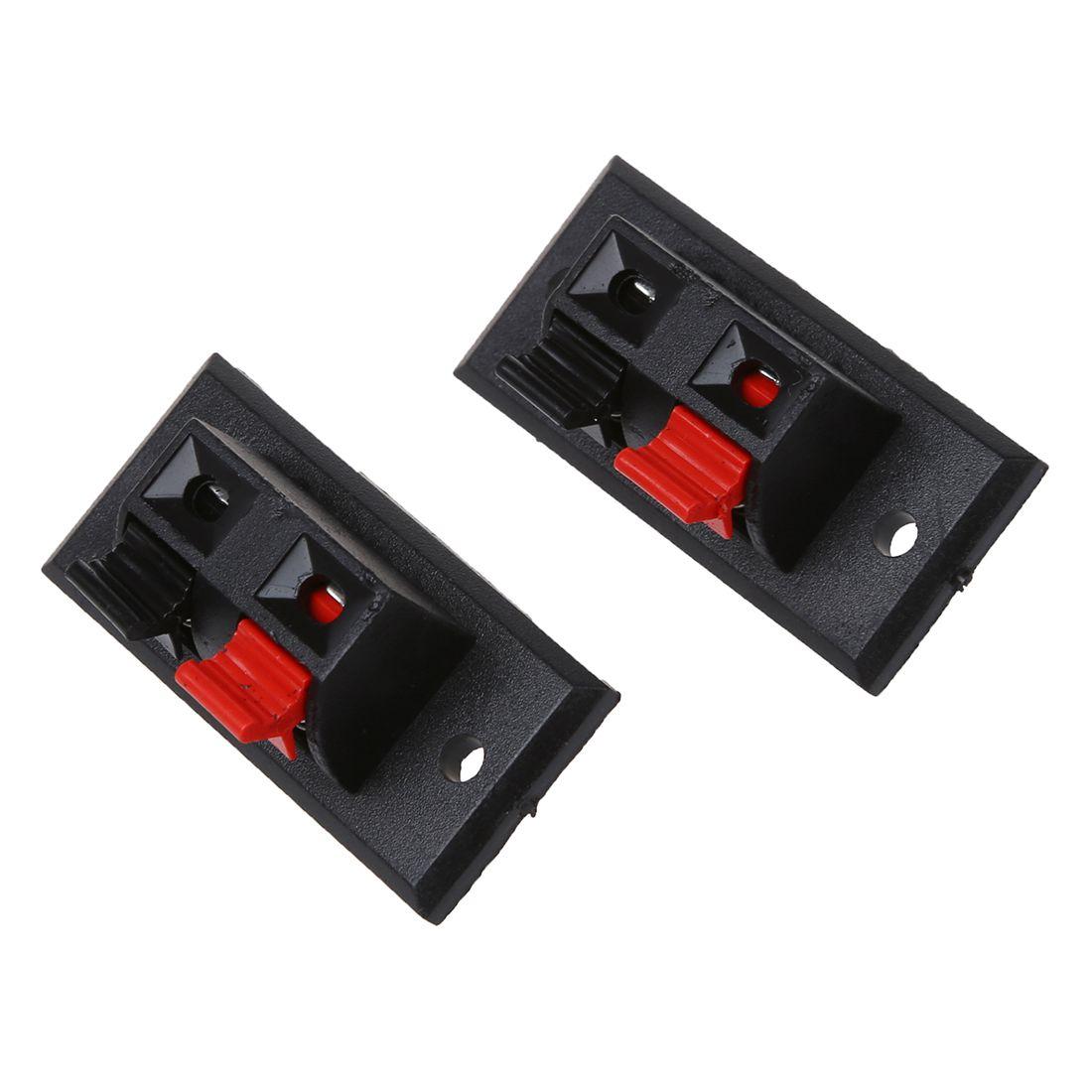 10x Einzelne Zeile 2-Pin Schalter Schieben Lautsprecher Verdrahtung ...