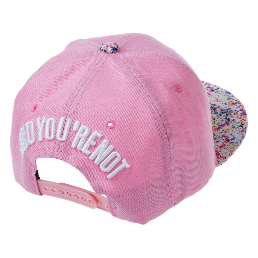 Men Women Baseball Hip Hop Cap Adjustable Fresh Snapback Trucker Hat V4y2  Pink. About this product. Picture 1 of 6  Picture 2 of 6  Picture 3 of 6 ... afc09cb2439b