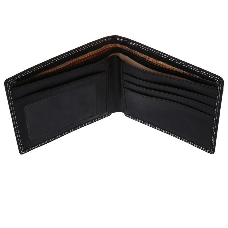 Men-Luxury-Leather-Card-Cash-Receipt-Holder-Organizer-Bifold-Wallet-Coin-Pu-N9U4 thumbnail 5