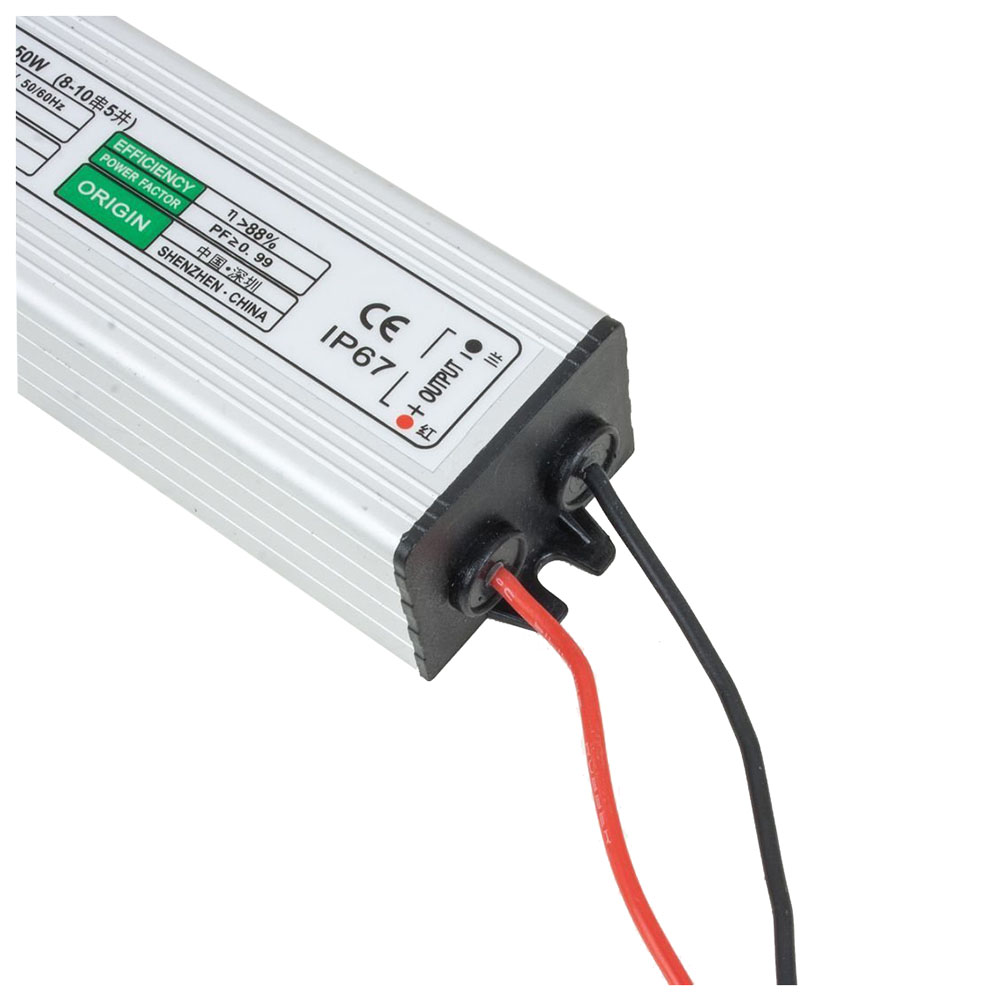 50w Led Power Supply: 50W LED Driver Waterproof IP67 Power Supply High Power
