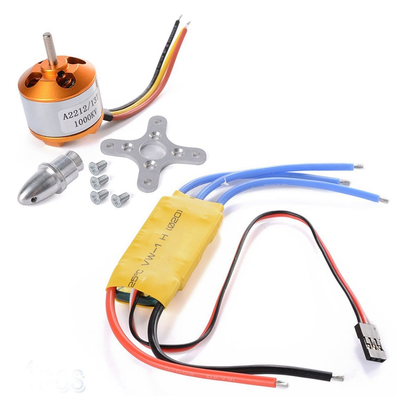 3X(4pcs A2212 1000KV Brushless Motor + 4 pcs pcs pcs 30A ESC for FPV DJI F450 550 MB7N8) b06d94
