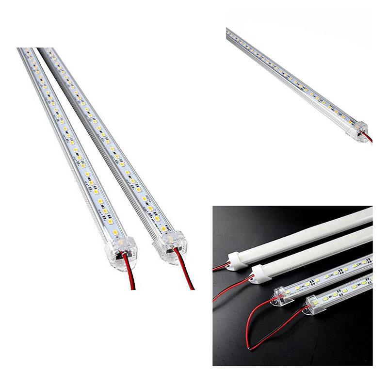 2 Stueck Aluminiumlegierung Starre LED Streifen Stab Licht Wasserdichtes 12 A2
