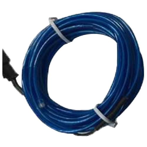 Flexible El Wire Neon Glow Light Length 4m Voltage 12v O9b2 Blue ...