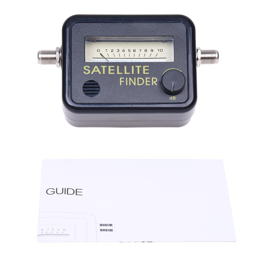 digital satellite finder signal meter for directv dish tv network c4n1 ebay. Black Bedroom Furniture Sets. Home Design Ideas