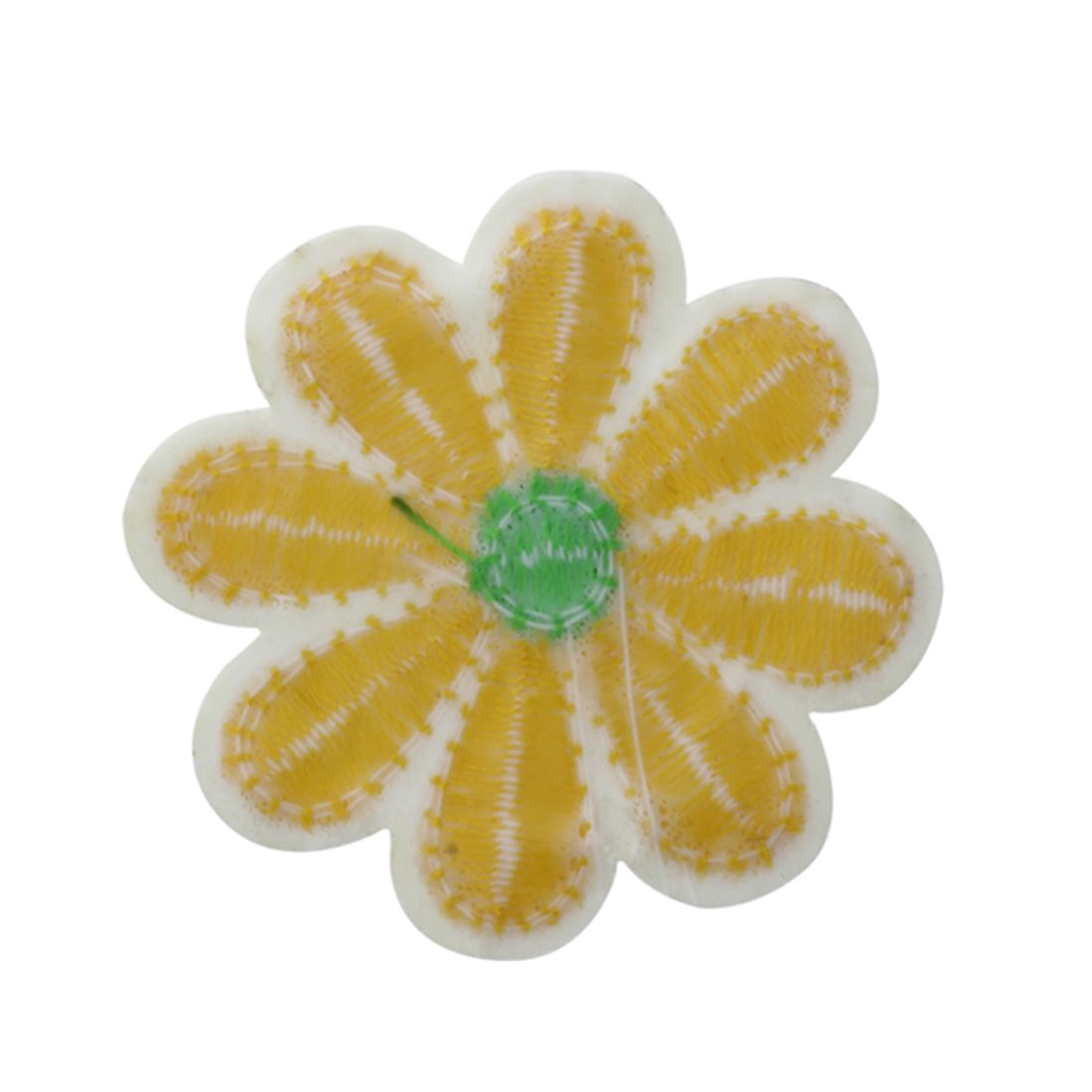 10pcs embroidered applique flower patches sewing craft for Applique decoration