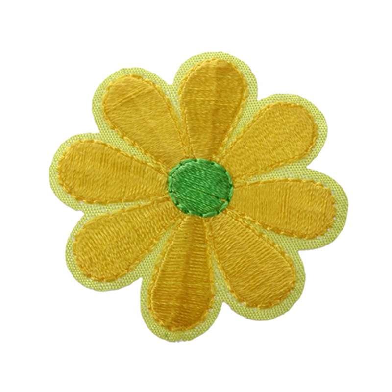 10pcs Bordados Apliques Flor Parches Costura Artesania Decoracion P7J4 E1