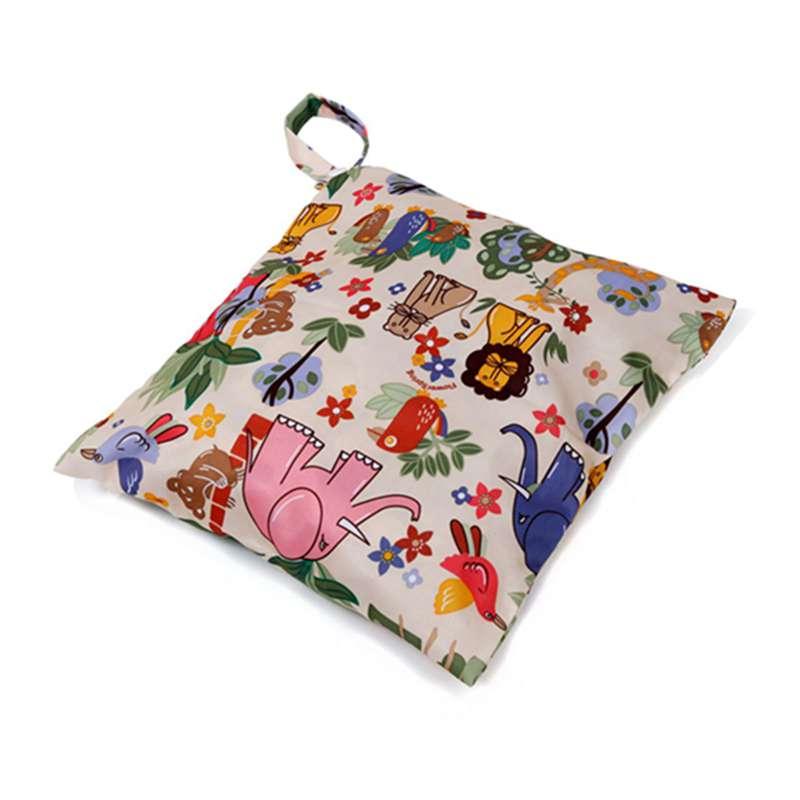 Sac-a-couches-lavables-etanche-zippe-Colorful-Owl-Pattern-Pink-Y4M2-92 miniature 7