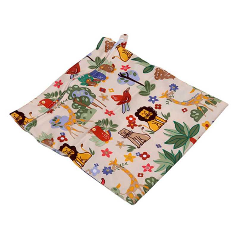 Sac-a-couches-lavables-etanche-zippe-Colorful-Owl-Pattern-Pink-Y4M2-92 miniature 9