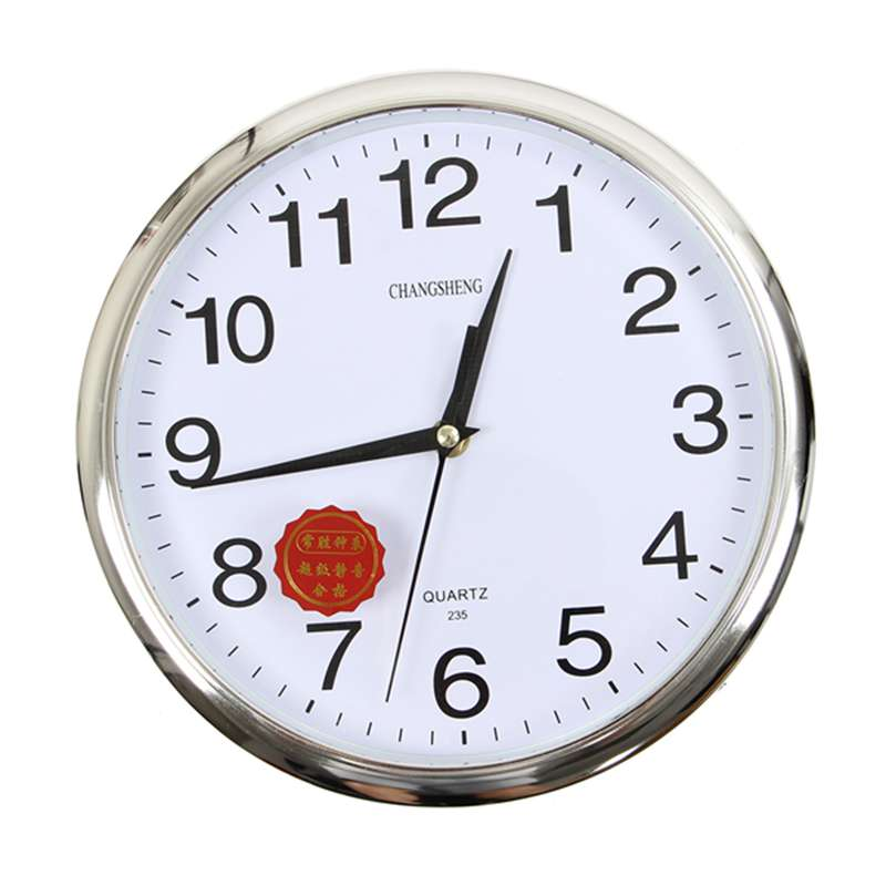 large vintage round modern home bedroom retro time kitchen wall rh ebay co uk Red Retro Kitchen Wall Clock Apple Kitchen Wall Clocks