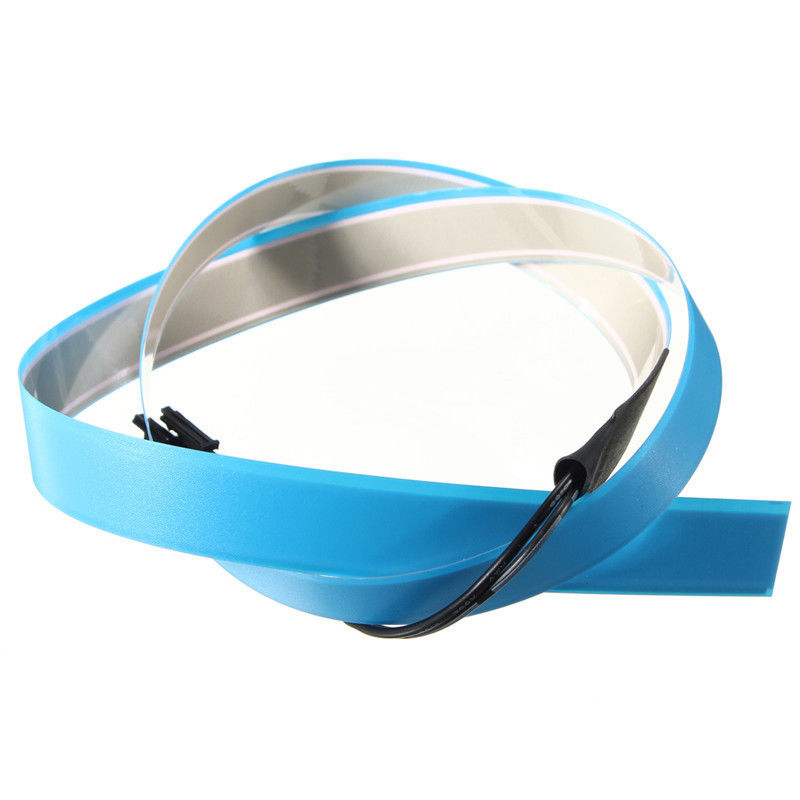 EL Cold light Wire high bright Electroluminescent Strip + Battery ...