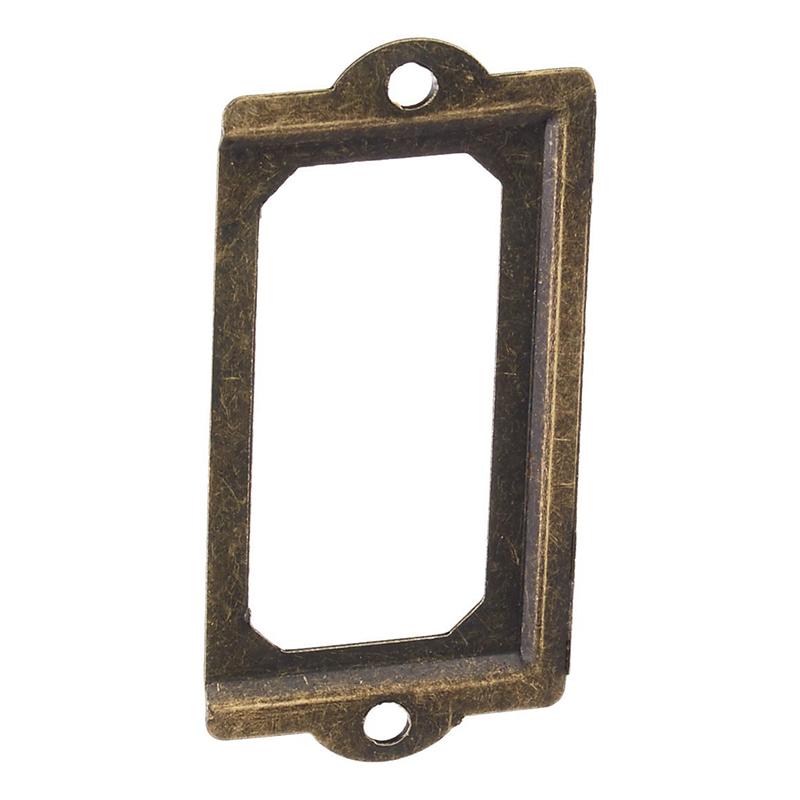 Drawer Filing Cabinet Office Label Name Card Frame Holder 20pcs U8A6 I2P2