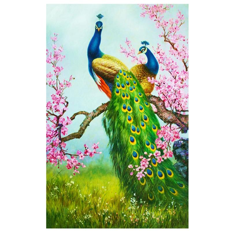 DIY-5D-Diamond-Embroidery-Painting-Cross-Stitch-Kit-Flower-Animal-Home-DecorY2V2
