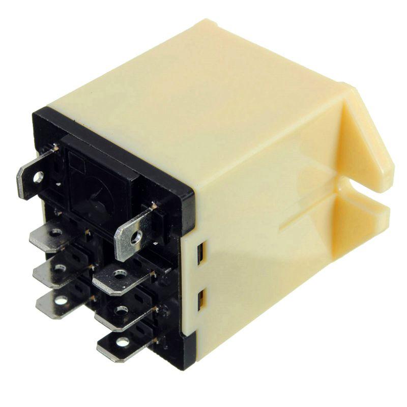 1x-JQX-30F-2Z-DC-12V-Coil-30A-250V-AC-Power-Relay-8-Pin-DPDT-5-25x3-5x4cm-I7S2 thumbnail 2