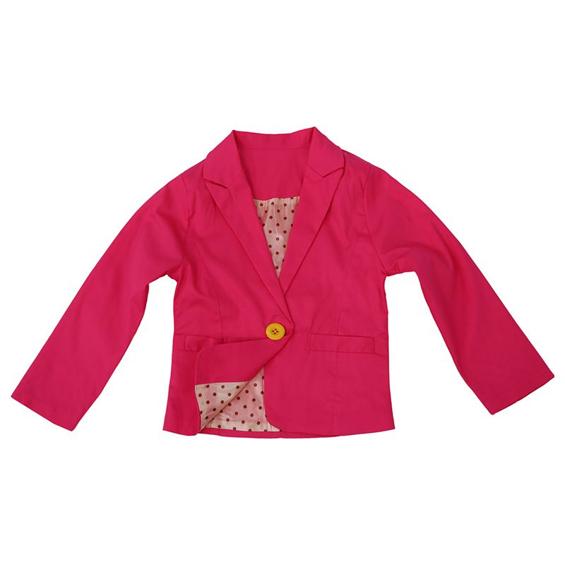New-Spring-amp-Autumn-Kids-Suits-Jacket-for-Girls-Children-Coat-Kids-Clothing-E2E5 thumbnail 4