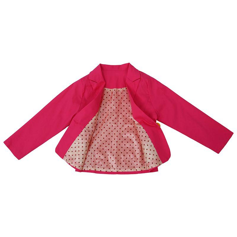 New-Spring-amp-Autumn-Kids-Suits-Jacket-for-Girls-Children-Coat-Kids-Clothing-E2E5 thumbnail 5