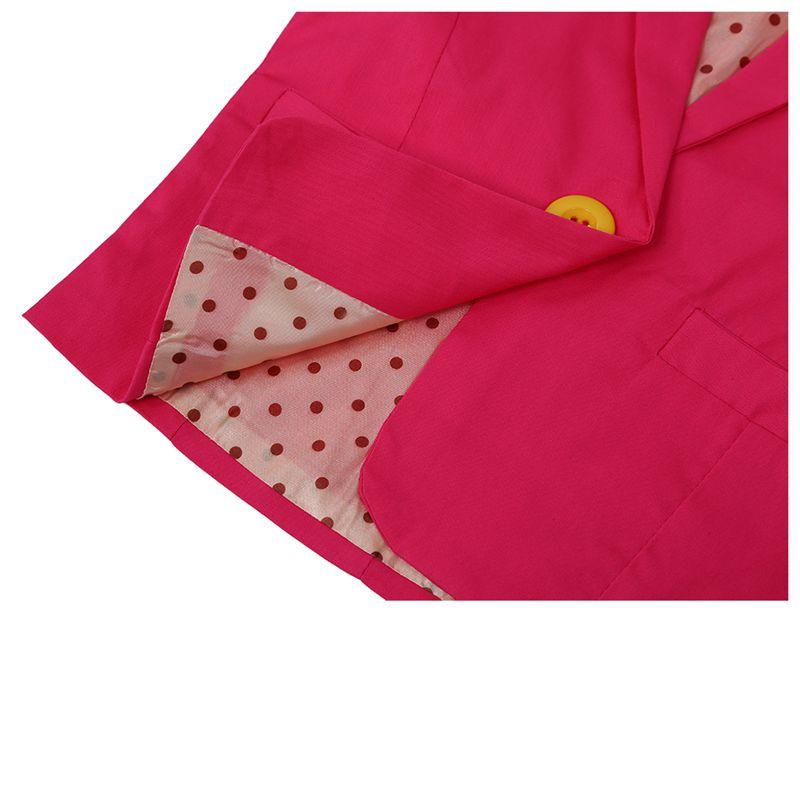 New-Spring-amp-Autumn-Kids-Suits-Jacket-for-Girls-Children-Coat-Kids-Clothing-E2E5 thumbnail 7