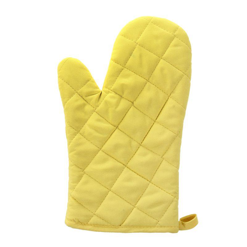 1-Paire-resistant-a-la-chaleur-en-Coton-gants-de-four-cuisine-cuisson-moufl-W1C6 miniature 6