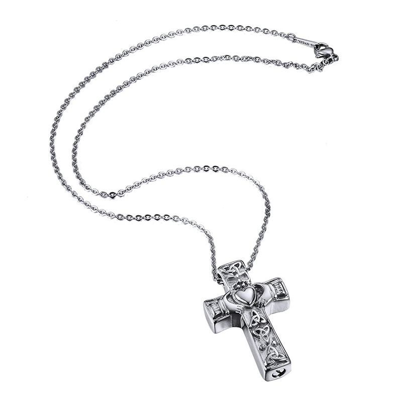 Cremation-Jewellery-Claddagh-Heart-Cross-Urn-Pendant-Necklace-P2Q2