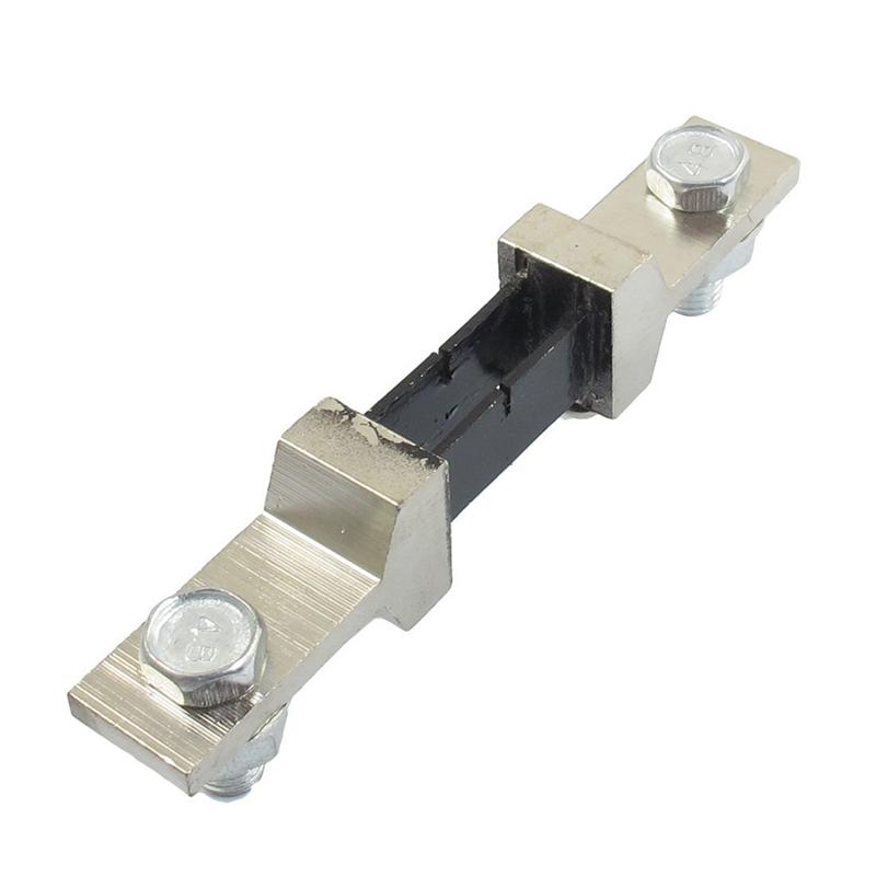 5X-1PCS-FC-2-200A-75mV-DC-current-shunt-resistor-for-Ampere-panel-meter-M7B3