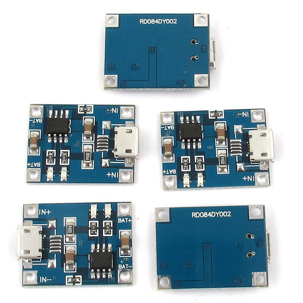 micro usb 1a li ion 18650 battery charger charging tp4056 module