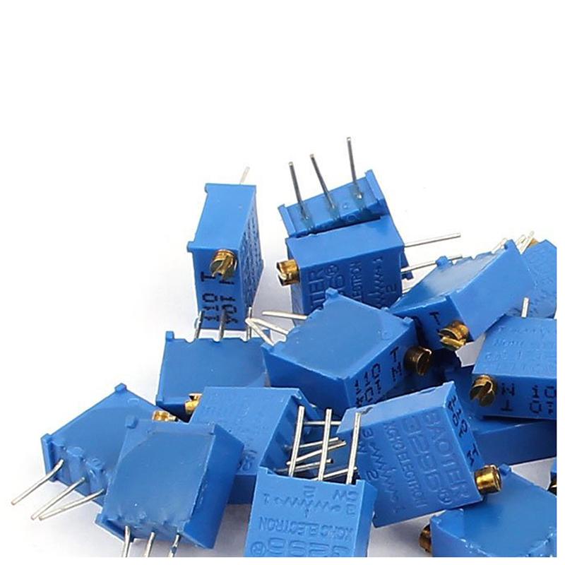 5X-20-Pcs-3296W-100K-ohm-Multiturn-Potentiometer-Pot-Variable-Resistor-M3S2