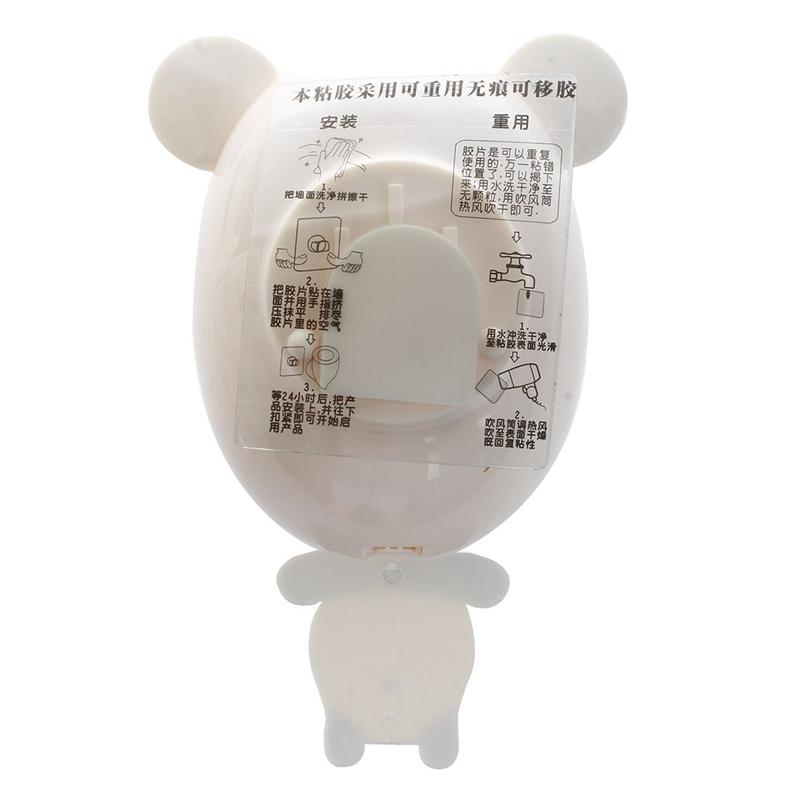Distributeur-automatique-de-dentifrice-Porte-brosses-A-dents-pour-enfants-B-G8T4 miniature 3