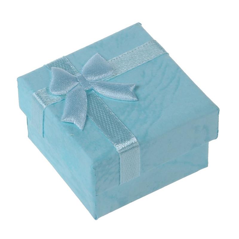 24-Pcs-Ring-Earring-Jewelry-Display-Gift-Box-Bowknot-Square-Case-U6T7 thumbnail 31