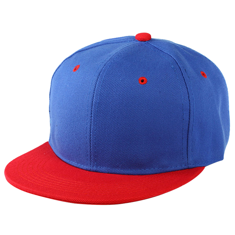 25473d51a58 Plain Snapback Hat Caps Flat Peak Funkybaseball Cap Hip Hop Hats Blue Red  K6w9. About this product. Picture 1 of 2  Picture 2 of 2