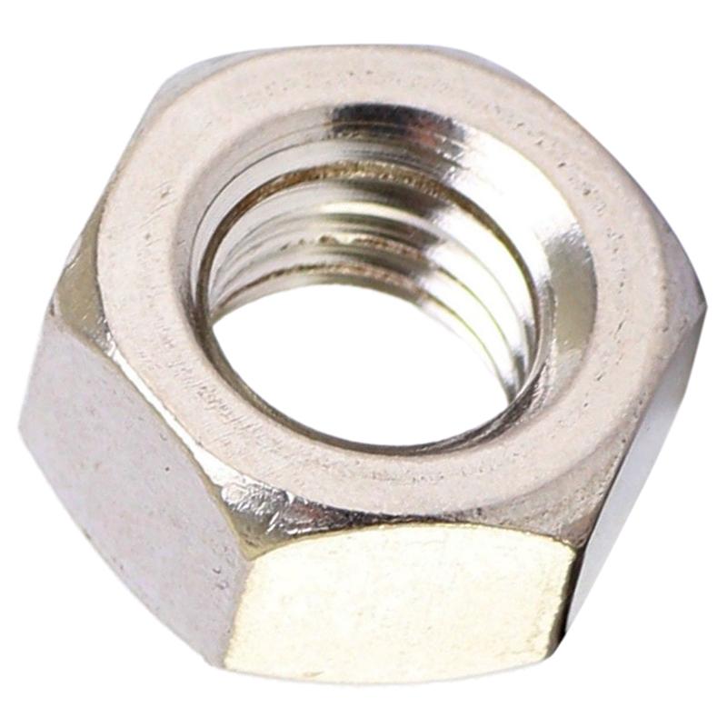 2X-STAINLESS-STEEL-HEX-FULL-NUTS-HEXAGON-NUT-M10-5PCS-J4J1 thumbnail 5